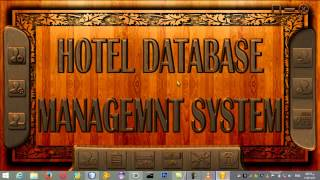Amazing Hotel Database Management System