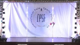 Anna Chigarina - SENIOR WOMEN - PRELIM - WORLD POLE SPORTS CHAMPIONSHIPS 2014