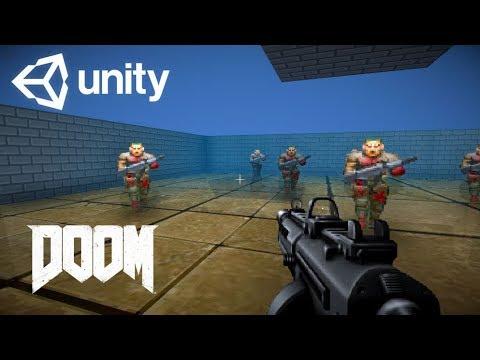 unity 2 5d fps doom like sprite rendering template