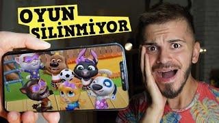 OYUNU SİLDİM! BAKIN NE OLDU? (My Talking Tom Friends)