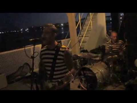 The Manges - Bad Juju & I Don't Wanna Live In Hell @ Punk Rock Cruise in Boston, MA (6/6/14)