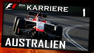 F1 2014/1. Saison #001 Australien/Training/Qualifying[German|HD+|PC] Legende 100% FORZA JULES