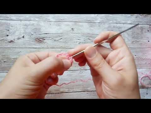 Витые узелки крючком
