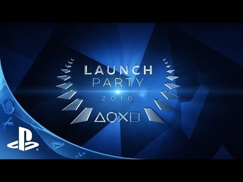 PlayStation Store Launch Party 2016 Lineup Trailer