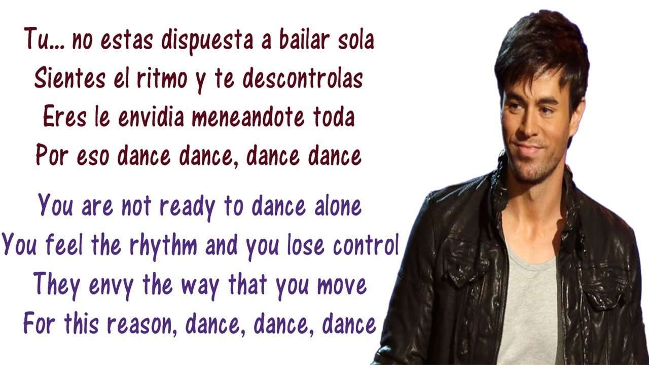Enrique Iglesias - Noche Y De Dia Lyrics English and ...