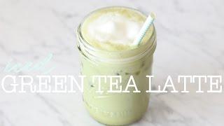How To Make An Iced Green Tea Latte