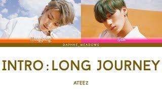 Ateez — Intro : Long Journey  Color Coded Eng Lyrics  Plz Read The Description