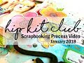 Scrapbooking Process  #374 Hip Kit Club / Sweet