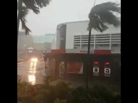 Strong Winds and rain hit Suva - Tropical Depression