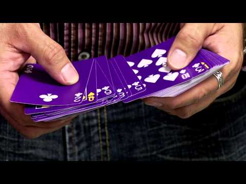 Bicycle Purple Deck by MAGIC MAKERS