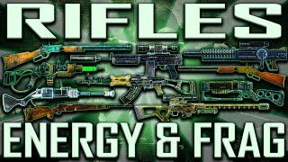 Rifles - Fallout 3 - Rare & Unique (Includes DLCs)