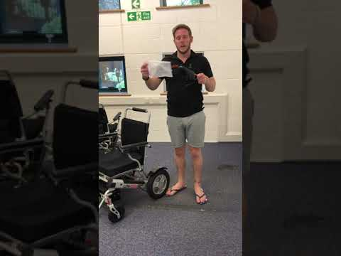 Demonstration of our new LITH-TECH SMART CHAIR & SMART CHAIR XL