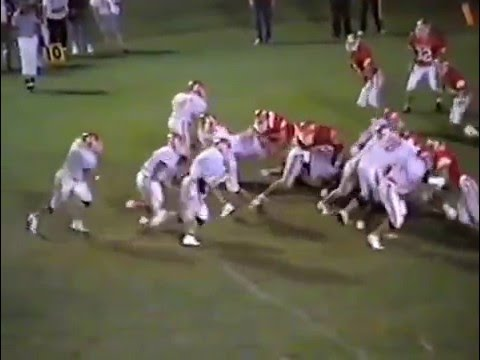 1990 Stilwell Indians at Grove Ridgerunners Football