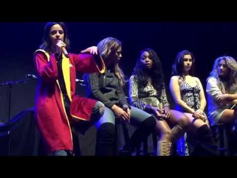 Fifth Harmony soundcheck Q&A in Birmingham, UK