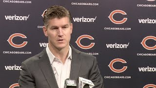 Ryan Pace, Bears excited about free agency signings