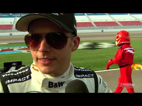 IZOD IndyCar Series Las Vegas Qualifying Results