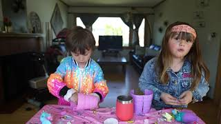 Maisie and Remy Open Blume Dolls