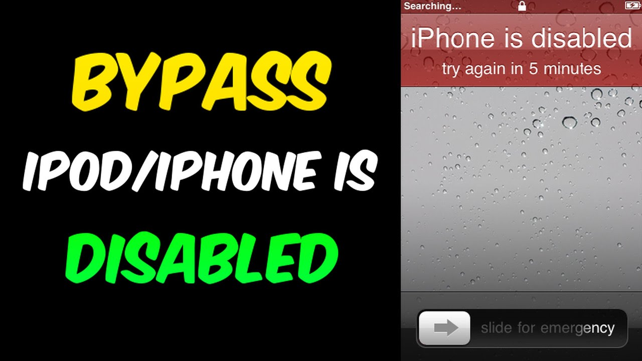 how to unlock iphone 4 lost password