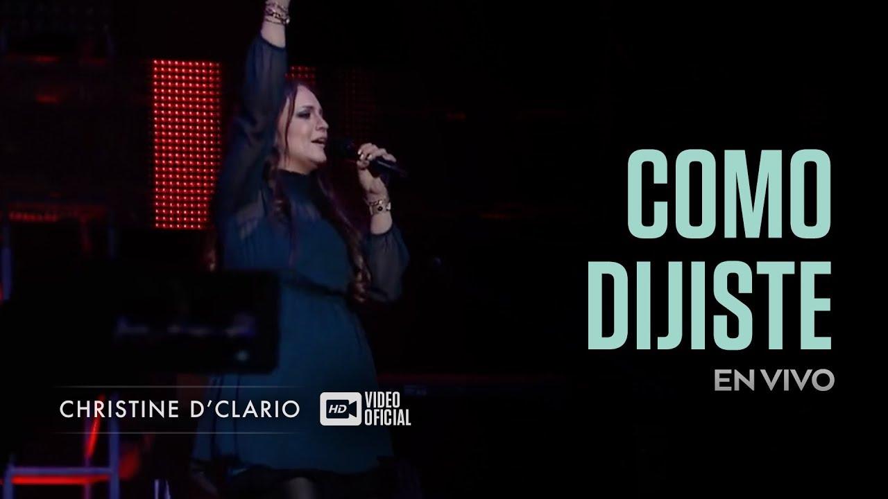 christine-dclario-como-dijiste-en-vivo-christinedclario