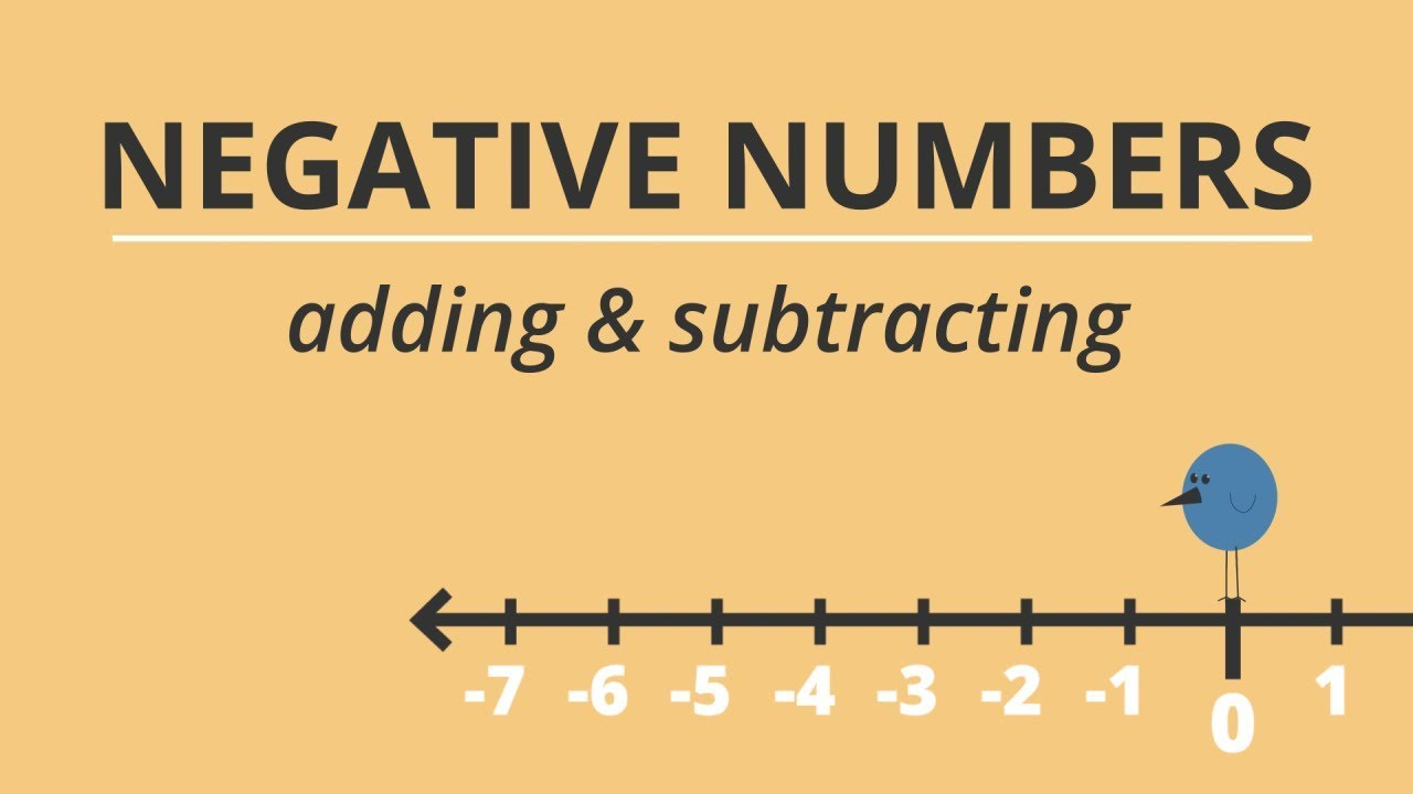 a trick for adding and subtracting negative numbers youtube