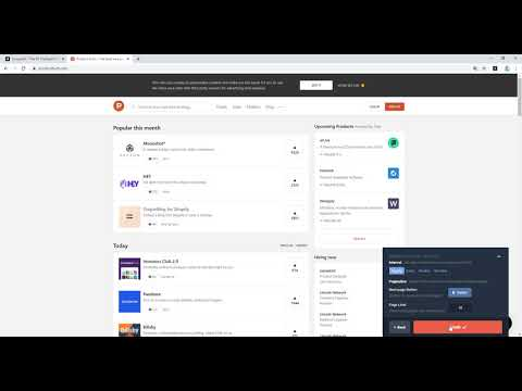 How to get producthunt updates for free using Scraper.AI