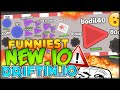 THE FUNNIEST NEW .IO GAME WITH FRIENDS!! BECOMING THE FASTEST (DRIFTIN.IO - Funny Moments #1)