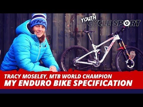 Tracy Moseley, MTB World Champion - My enduro bike