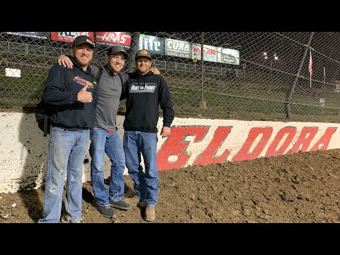 We Were Fans and Semi-Celebrities at Night One of Eldora's World 100