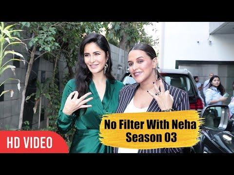 No Filter With Neha Season 03  Katrina Kaif  Thugs of Hindostan