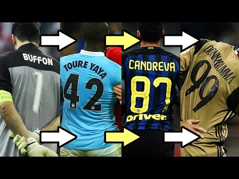 Can We Count From 1-99 Using Current European Squad Numbers?