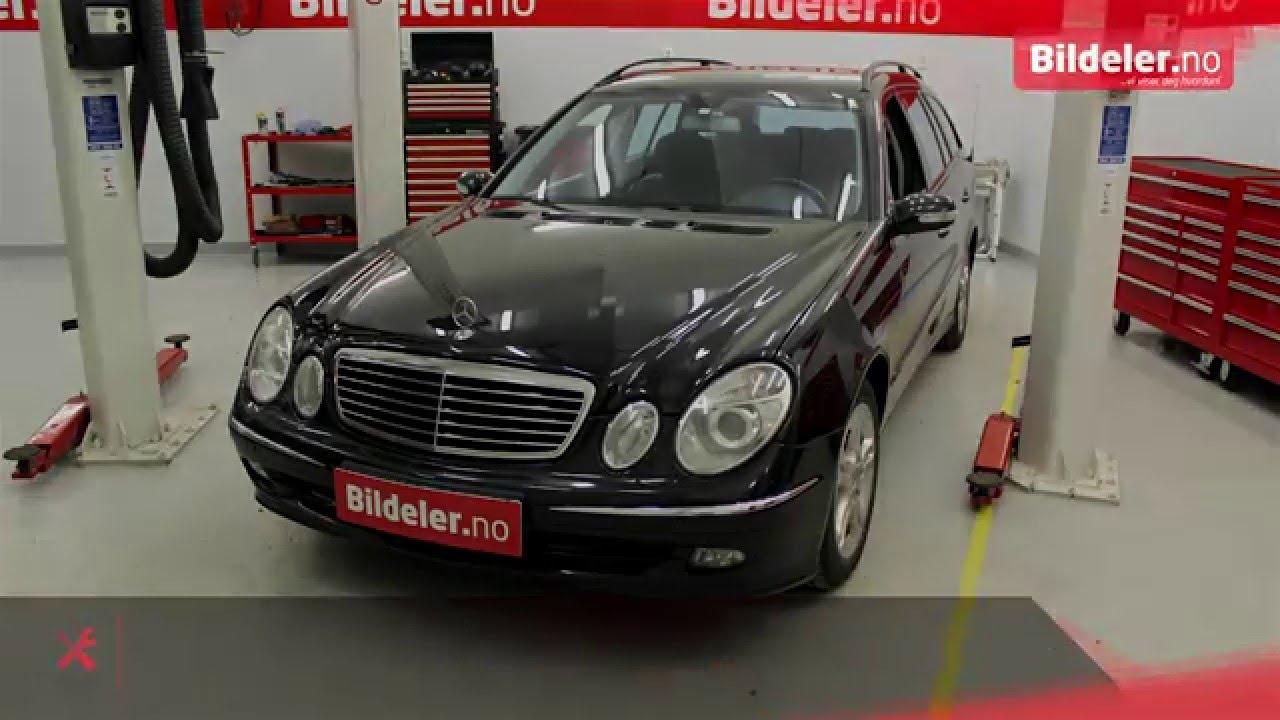 Mercedes E Klasse Hvordan Bytte Starter E220 Cdi 2003 Til 2009 Sprinter Egr Wiring Diagram Mod W211