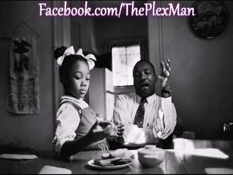 Dr. MLK speaks to his daughter abt Racism