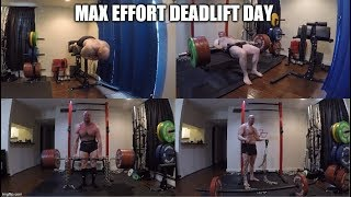 1-22-2020 Orc Mode Training - Max Effort Deadlift Day