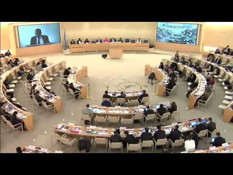 UN Live United Nations Web TV   Zambia, UPR Report Consideration   40th Meeting, 37th Regular Sessio