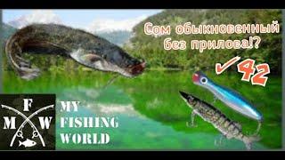 42 My Fishing World Сом обыкновенный без прилова