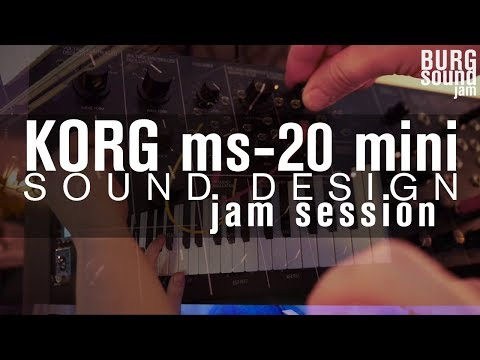 BURG SOUND - pilot episode (ms-20 jam session)