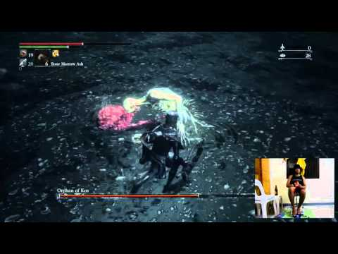 Orphan of Kos NG+7 Kill (Bare feet playing on my Dualshock 4)