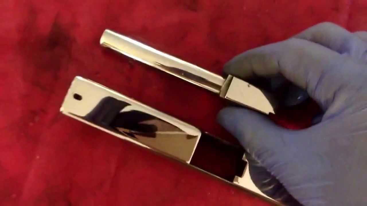 Glock 17 Full Mirror Polished Slide PolishingBarrel Polishing