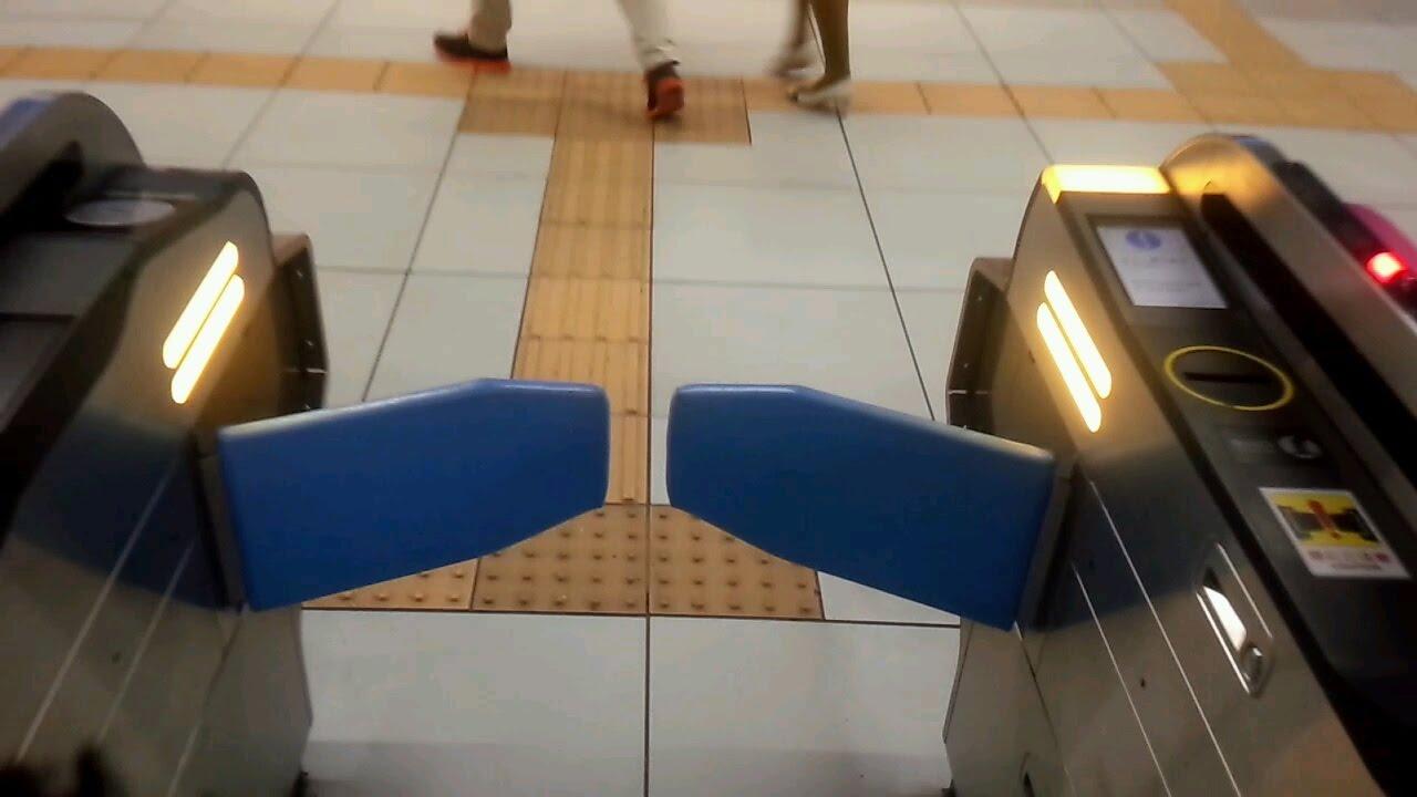 ランプ点滅色注目 日本信号自動改札機 Gx 8 Youtube
