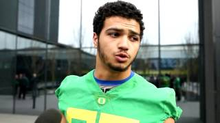 Oregon LB Troy Dye says Ducks building on team chemistry during spring football