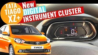 2019 Tata Tiago XZ+ New Instrument cluster Detailed Review | New Tiago XZ Plus | CarQuest