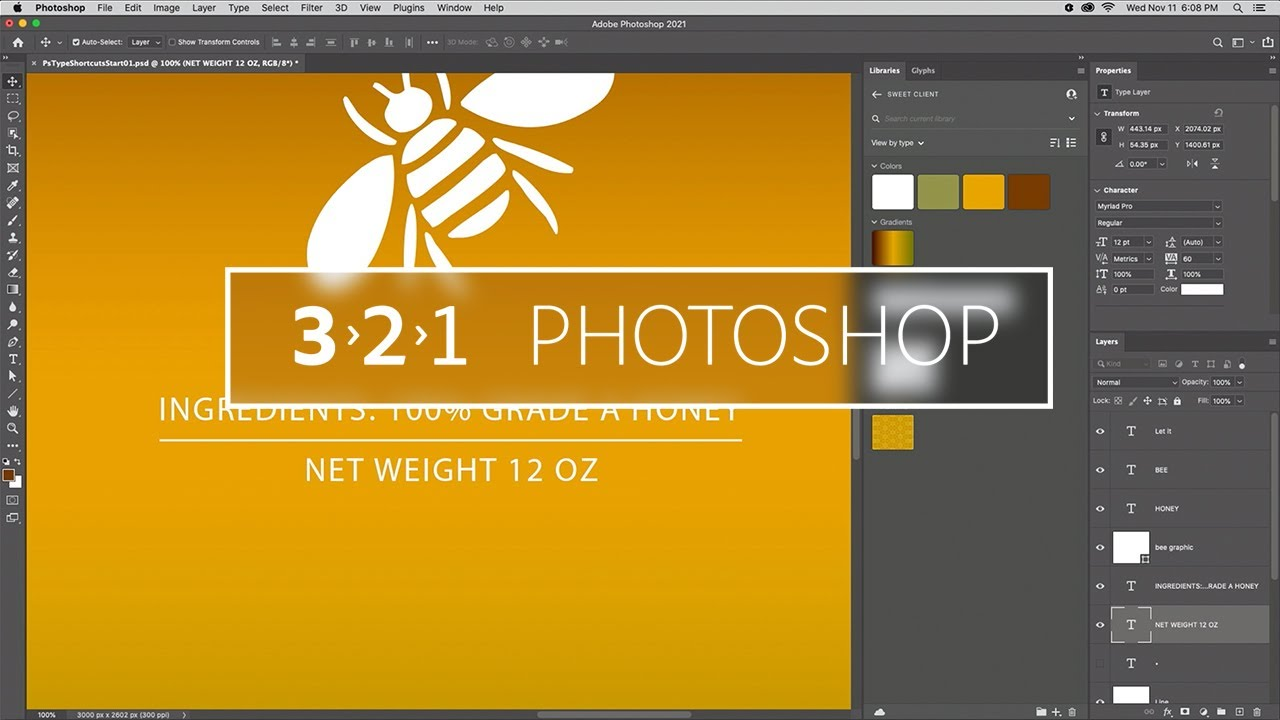 Seven Type tips in Photoshop