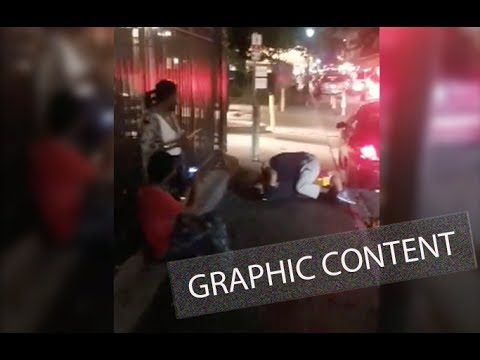 Graphic Content: Bystander  captures struggle before French Quarter shooting