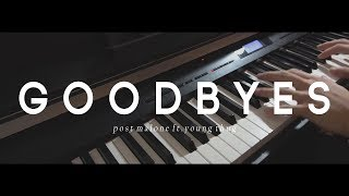 Post Malone - Goodbyes ft. Young Thug - Piano Cover by Smyang