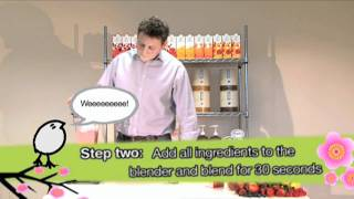 Sweetbird Smoothie Mix Recipe: Promotional video by Digital Visitor