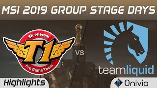 SKT vs TL Highlights MSI 2019 SK Telecom T1 vs Team Liquid MSI Highlights by Onivia