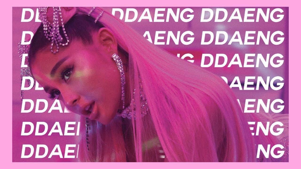 Download 7 Rings Ariana Grande Ddaeng 3gp  mp4  mp3  flv  webm  pc  mkv