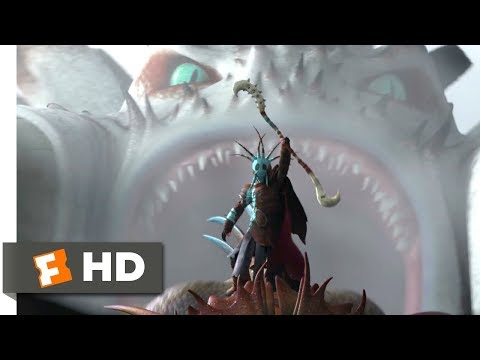 How to Train Your Dragon 2 (2014) - Drago Attacks! Scene (5/10) | Movieclips