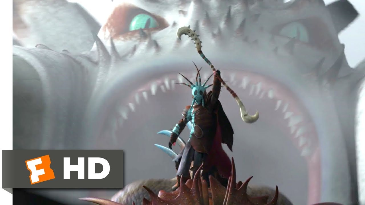 How To Train Your Dragon 2 2014 Drago Attacks Scene 5 10 Movieclips Youtube
