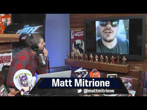 Matt Mitrione: It was Ref's Job to 'Save Me from Myself' after Eye Pokes